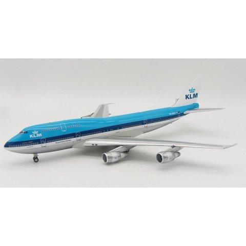 B747-200SUD KLM PH-BUK Polished 1:200 With Stand