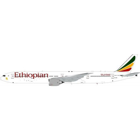 B777-300ER Ethiopian ET-APX 1:200 with Stand