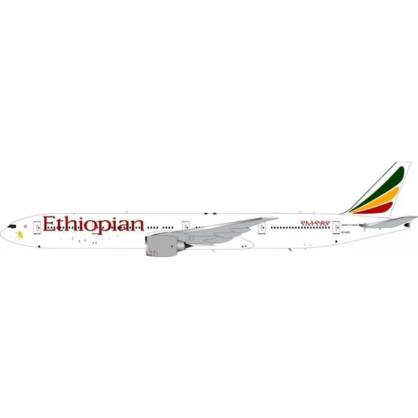InFlight B777-300ER Ethiopian ET-APX 1:200 with Stand