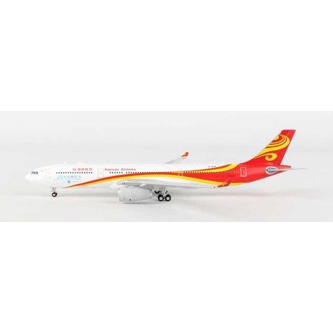 A330-300 Hainan China Britain First Flight B-8118 1:400**o/p**