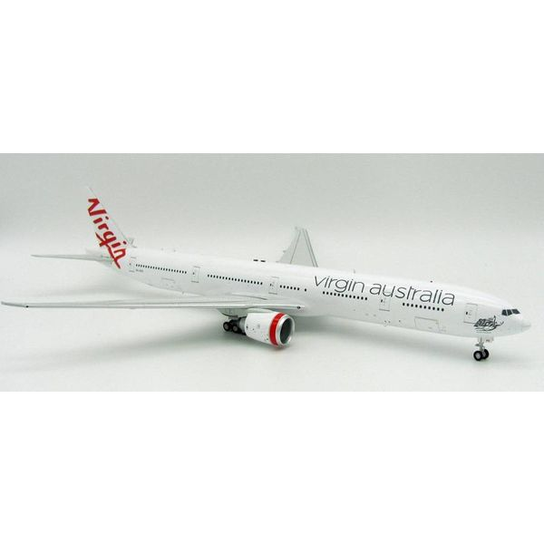 InFlight B777-300ER Virgin Australia VH-VPD 1:200 with Stand