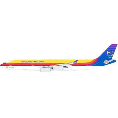 A340-300 Air Jamaica 6Y-JMP 1:200 with stand