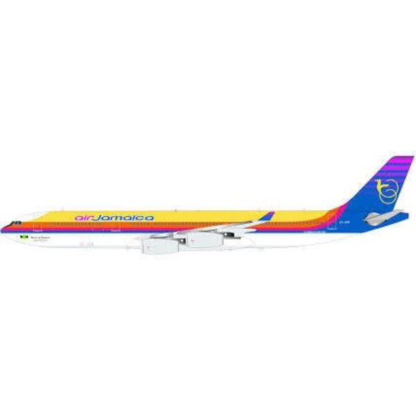 InFlight A340-300 Air Jamaica 6Y-JMP 1:200 with stand