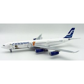 InFlight A340-300 Finnair Moomins OH-LQC 1:200 with Stand