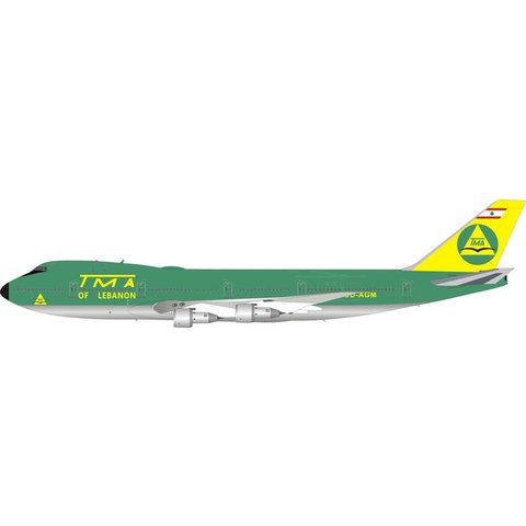 B747-100 TMA of Lebanon OD-AGM 1:200 With Stand (Limited 100 pieces)