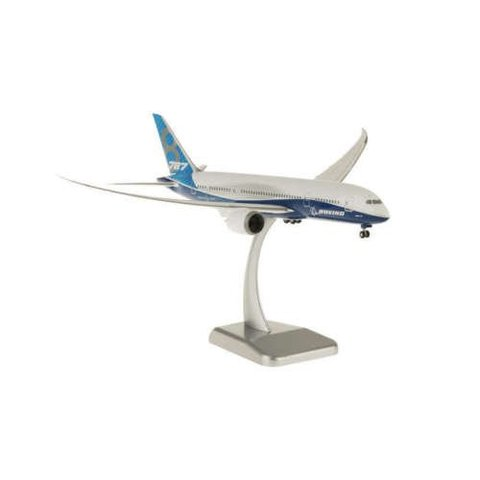 B787-8 Boeing House New Livery 1:200 with Gear + stand