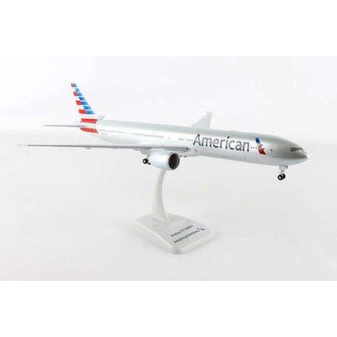American 777-300 1/200 W/Gear REG#N725an W/Radome