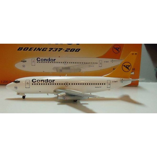 InFlight B737-200 Condor D-ABHT 1:200 with stand+SALE+