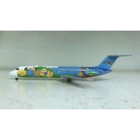 DC9-30 Cebu Pacific Air Cebu City RP-C1509 1:200 with stand