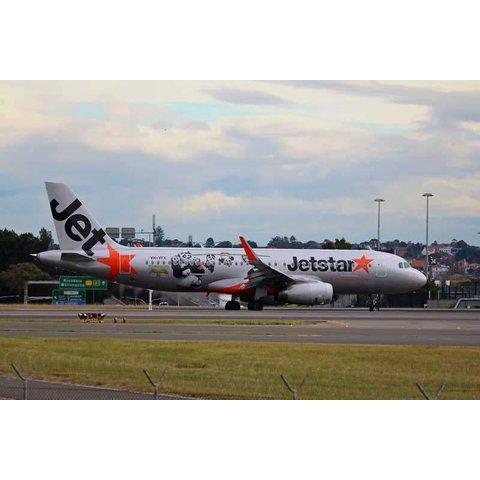 A320s Jetstar Kung Fu Panda 1:400