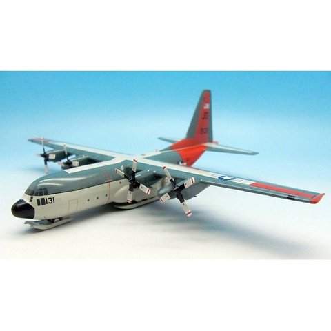 LC130F Hercules L-282 US Navy VXE6 XD-06 skis 1:200 with Stand