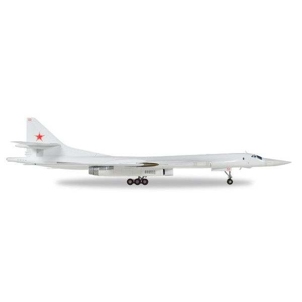 Herpa TU160 Soviet Air Force 18th Regiment Pryluky 1:200 with stand**o/p**