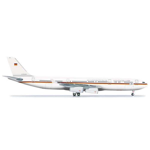 Herpa Herpa A340-300 Luftwaffe Flugbereitschaft Bundesrepublik Deutschland Germany  1:200