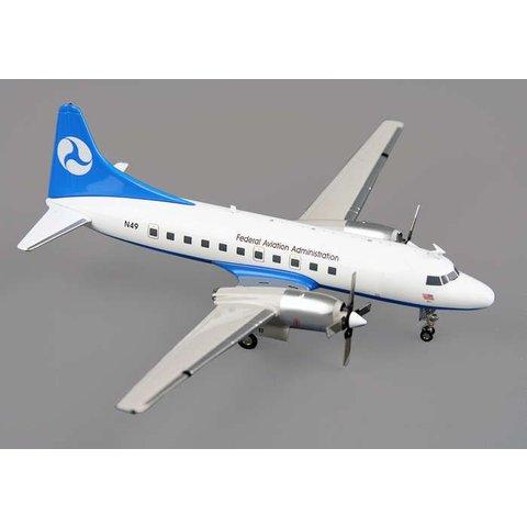 CV580 FAA Federal Aviation Administration N49 1:200