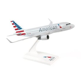 SkyMarks A319 American Airlines 2013 livery 1:150 with stand