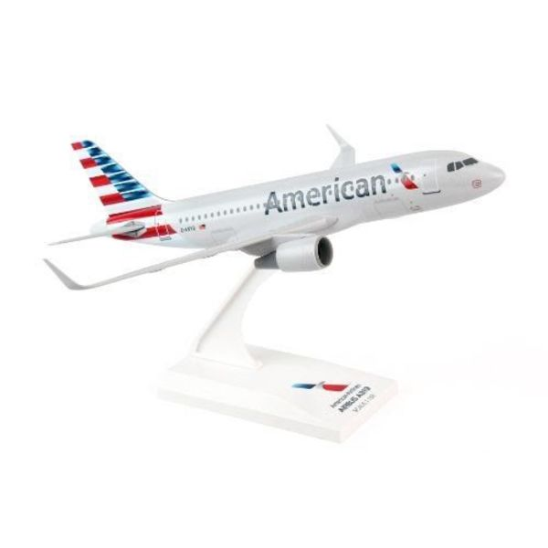 SkyMarks American A319 American Airlines 2013 livery 1:150 with stand