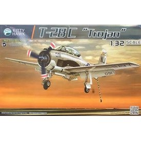 Kitty Hawk Models T28C TROJAN 1:32 SCALE KIT