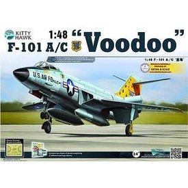 Kitty Hawk Models F101A/C VOODOO 1:48 SCALE KIT