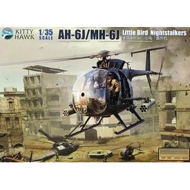 Kitty Hawk Models AH6J/MH6J LITTLE BIRD NIGHTSTALKERS  1:35 SCALE