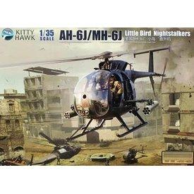 Kitty Hawk Models KITTY AH6J/MH6J LITTLE BIRD NIGHTSTALKERS :35