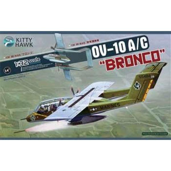 Kitty Hawk Models OV10A/C BRONCO 1:32 SCALE KIT
