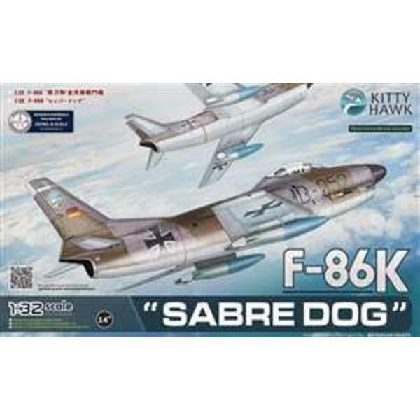 Kitty Hawk Models F86K SABRE DOG GERMAN 1:32 SCALE