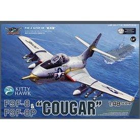Kitty Hawk Models F9F/F9F8P COUGAR USN/BLUE ANGELS 1:48 SCALE KIT