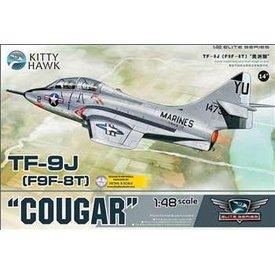 Kitty Hawk Models KITTY TF9J/F9F-8T COUGAR USMC 1:48