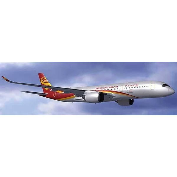 JC Wings A350-900 Hong Kong Airlines B-LGA with Antenna 1:400