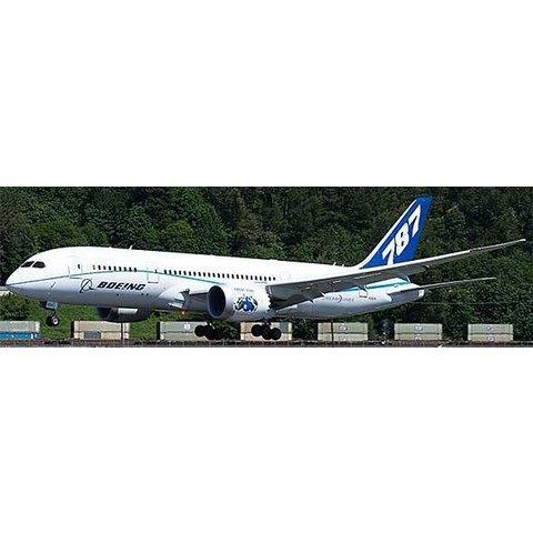JCWIN B787-8 Boeing House N7874 Flaps down 1:400