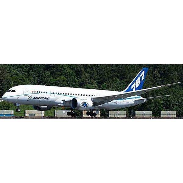 JC Wings B787-8 Boeing House N7874 Flaps down 1:400
