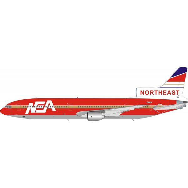 InFlight L1011 Northeast NEA Die Hard 2 Movie N765BE 1:200 with stand (fictional)