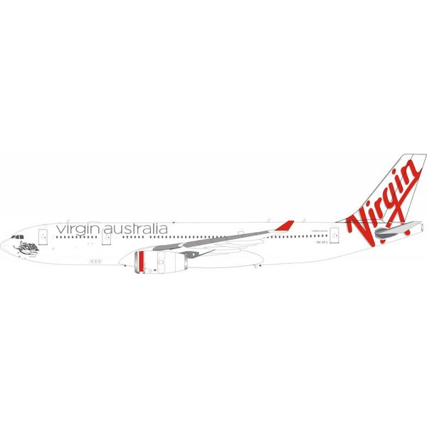 InFlight A330-200 Virgin Australia Airlines VH-XFJ 1:200 With Stand