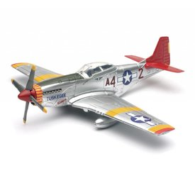 NewRay P51D Mustang Tuskegee Airmen Red Tail USAAF 1:48
