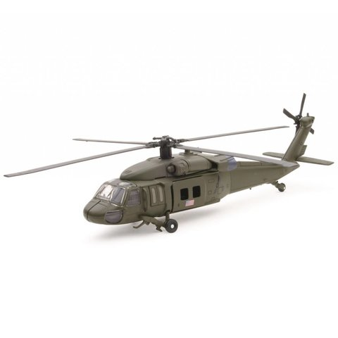 UH60 Blackhawk US Army 1:60 diecast Sky Pilot