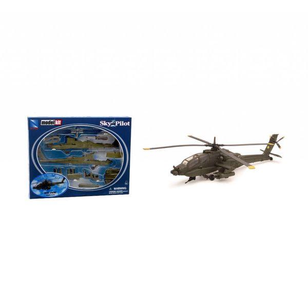 NewRay AH64 Apache US Army 1:60 Prepainted Kit Sky Pilot