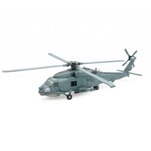 SH60 Sea Hawk US Navy Grey 1:60 Diecast Sky Pilot