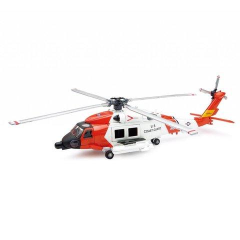 HH60J Jayhawk US Coast Guard 1:60 Diecast Sky Pilot