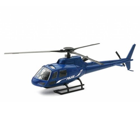 AS350 Eurocopter Police Navy 1:43 Diecast Sky Pilot