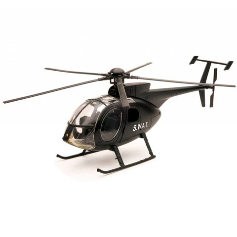 NH500 Helicopter SWAT Police 1:32 Diecast Sky Pilot