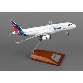 JC Wings A320 Cubana Transaer 1:200 with Stand