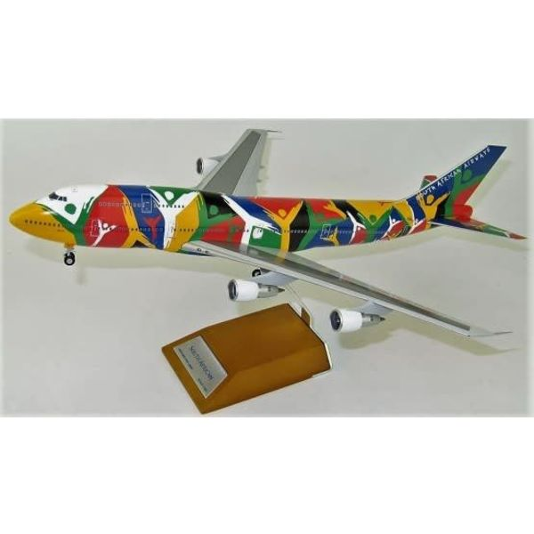 JC Wings B747-300 South African Ndizani ZS-SAJ 1:200 with stand++SALE++
