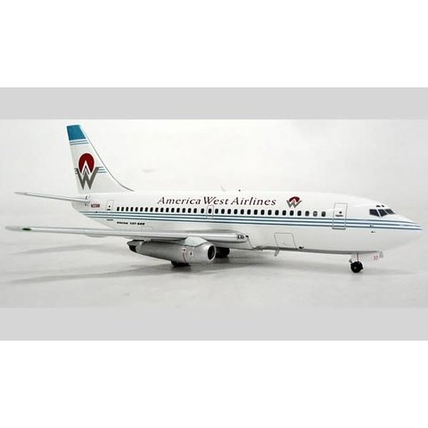 B737-200 America West Old Livery N137AW 1:200 with stand**O/P**+SALE+