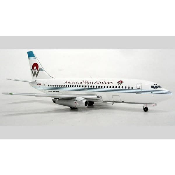 InFlight B737-200 America West Old Livery N137AW 1:200 with stand**O/P**+SALE+
