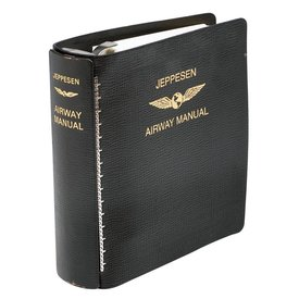 Jeppesen Jep Manual Binder 2'' Leather