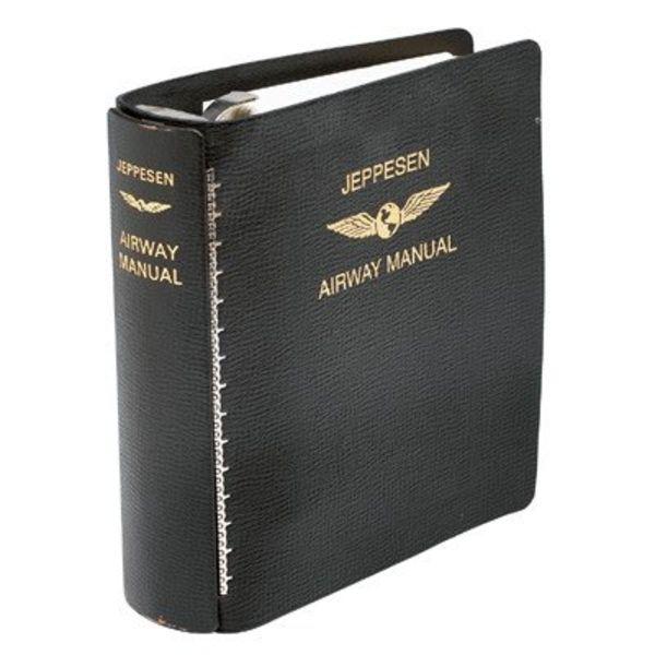 Jeppesen Jep Manual Binder 1'' Leather