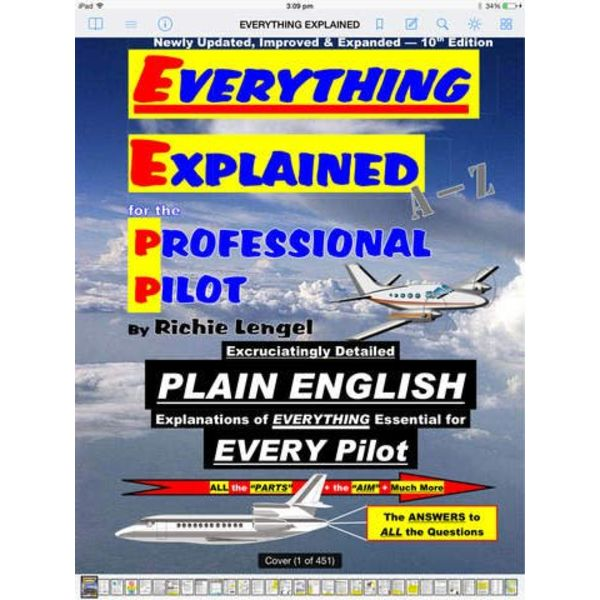 Everything Explained For Professional Pilot softcover