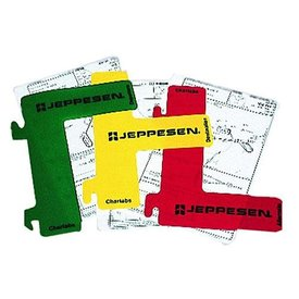 Jeppesen Jep Manual Tabs Dividers (3 Rd/Yw/Gn)