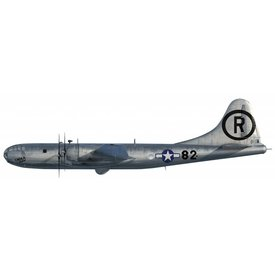 Air Force 1 Model Co. B29 Superfortress Enola Gay (with Little Boy Bomb) 1:144 (1:60)