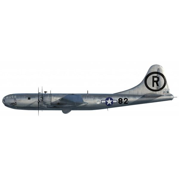 Air Force 1 Model Co. B29 Superfortress Enola Gay 1:144 (w/Little Boy Bomb 1:60)